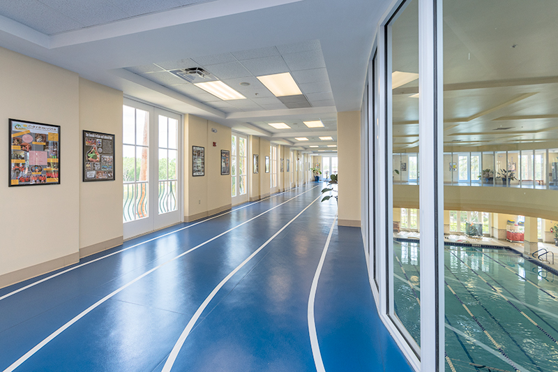 Air-Conditioned Indoor Walking Track