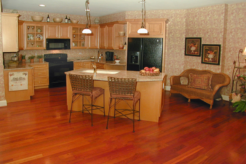 Kitchens with Wood Flooring