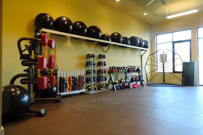 Group Fitness Rooms