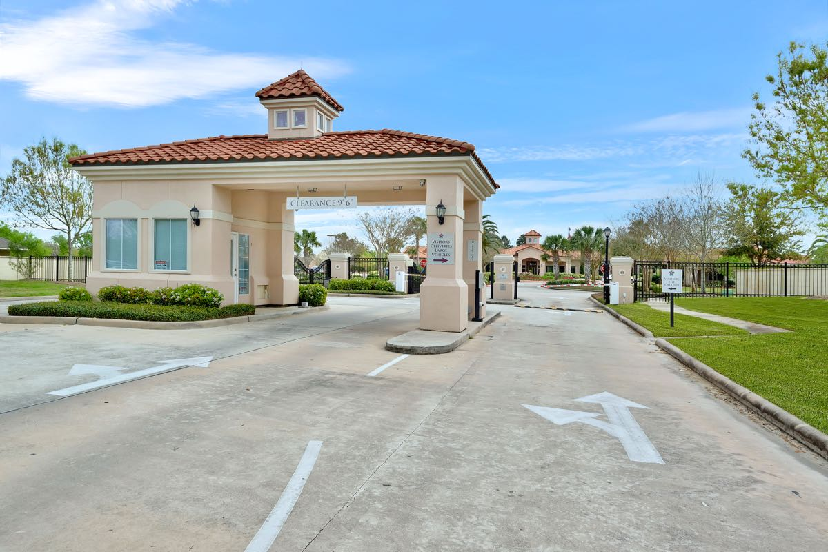 Gated Community Entrance