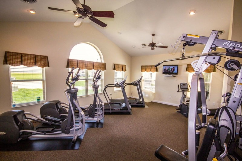 24-Hour Exercise Room