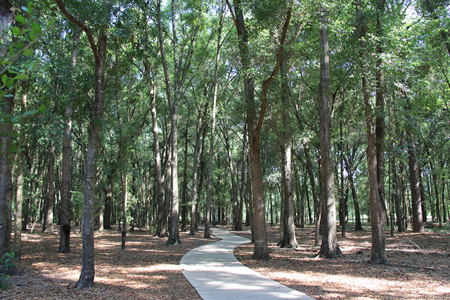 Over 15 miles of Walking & Biking Trails