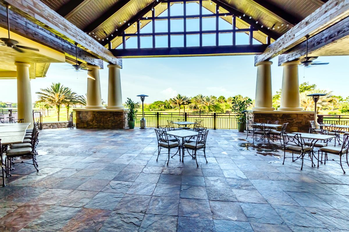Golf Lodge Patio