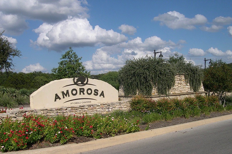 Amorosa at Cibolo Canyons