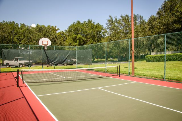 8 Pickleball Courts