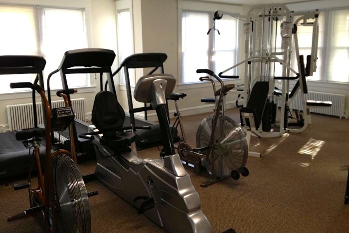 Exercise Room in Activity Center