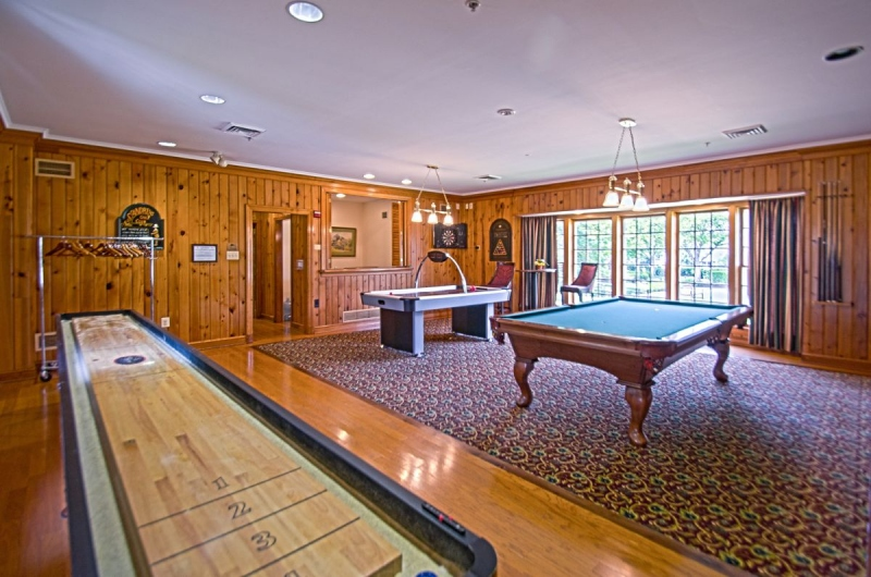 Marsh Mansion Billiards Room