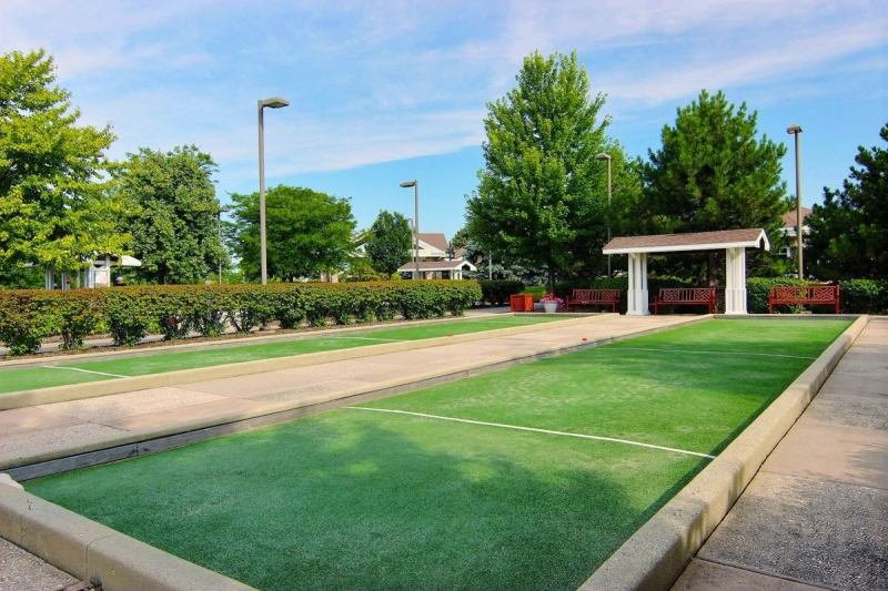 6 Bocce Ball Courts