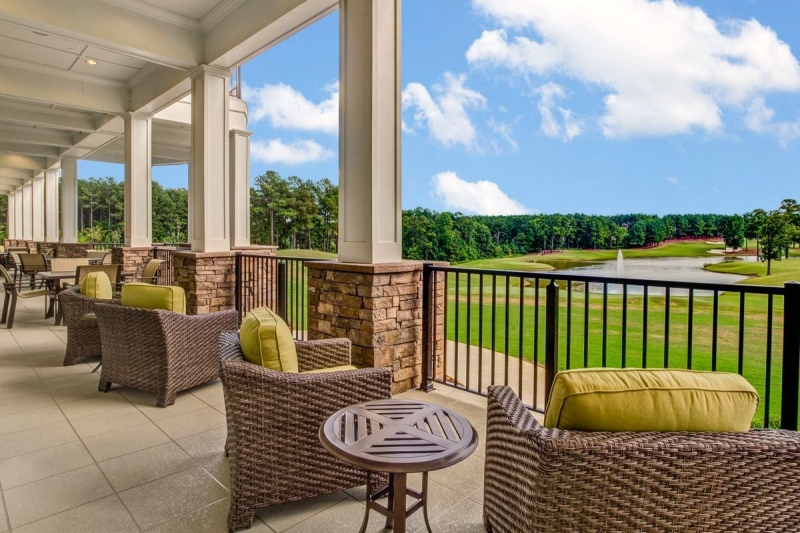 Expansive Outdoor Deck