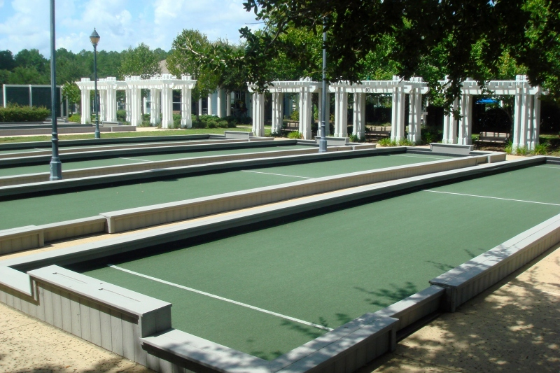 12 Bocce Ball Courts