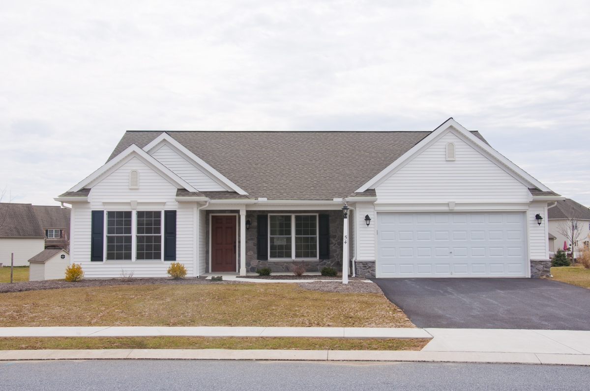 Clearview gardens north ephrata pa for Home builders central pa