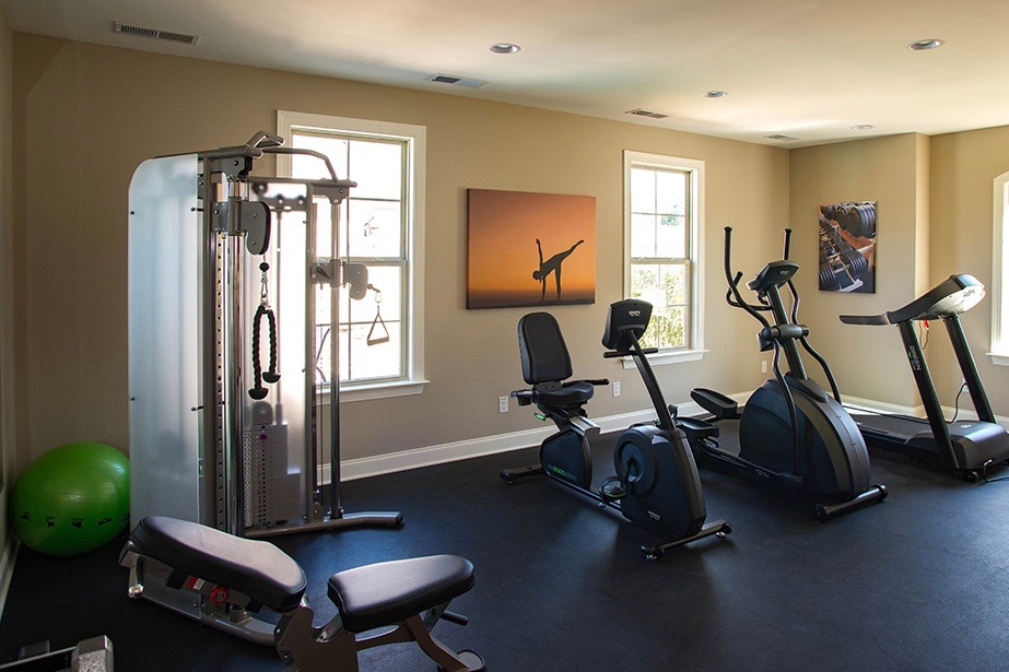 Typical Epcon Exercise Room in Houston Area