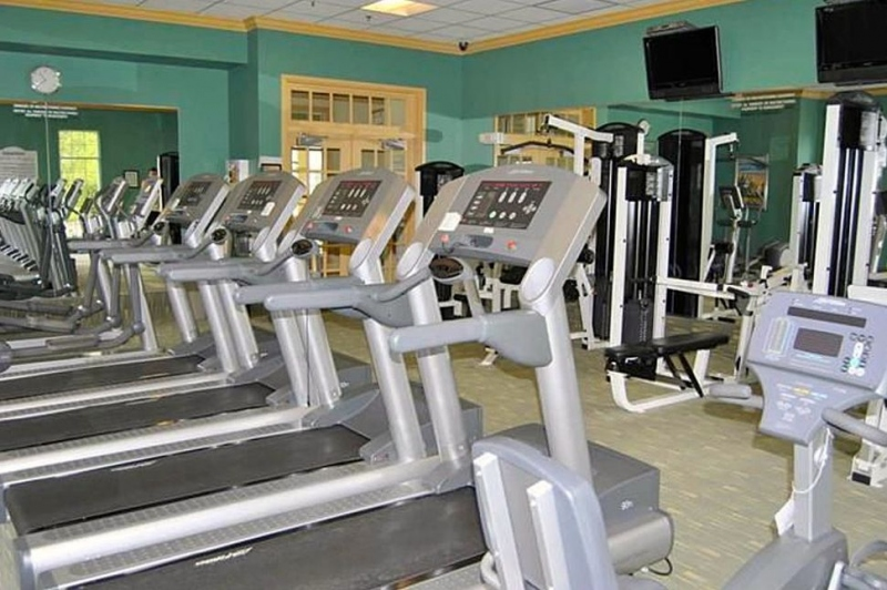 Exercise Room in Sports Pavilion