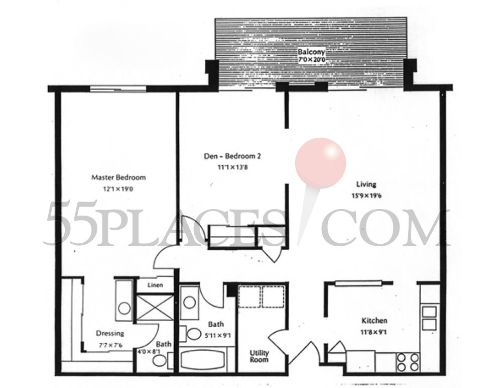 1200 floorplan 1200 sq ft heather gardens for 1200 sq ft floor plans