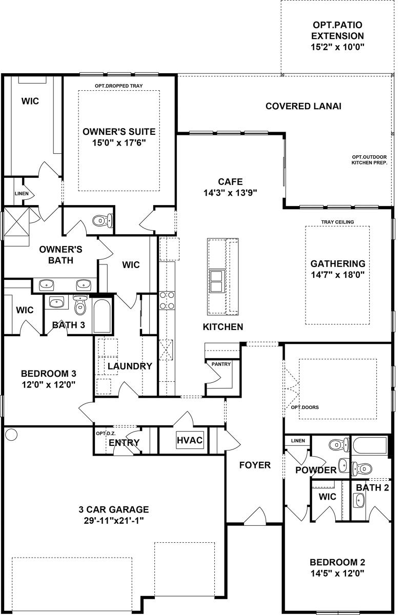 Renown Floorplan Del Webb Nocatee Places