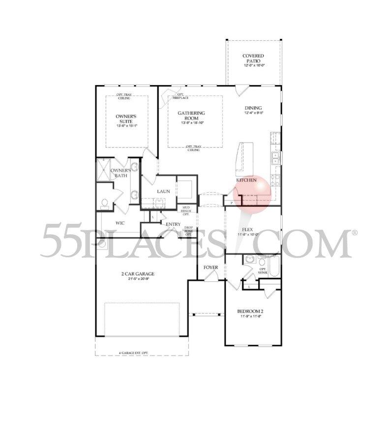 Model Home In San Antonio Texas Coronado Community: Abbeyville Floorplan