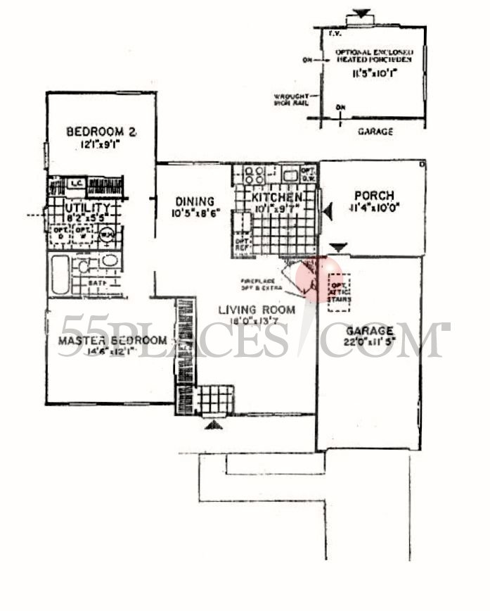 bedford floorplan
