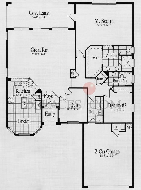 Boca Raton Floorplan 2089 Sq Ft Solivita 55places Com