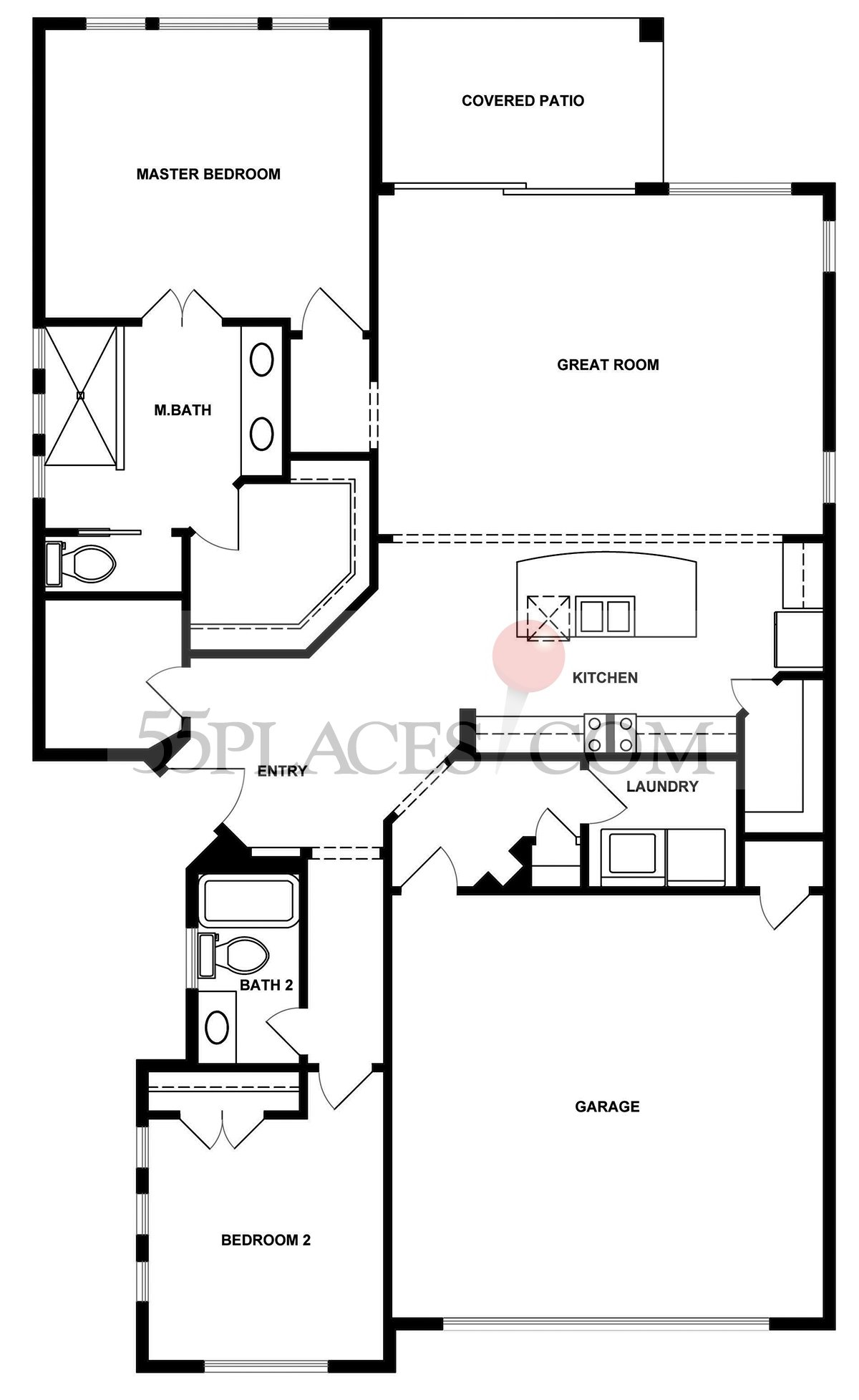 Davidson Floorplan 1752 Sq Ft Kissing Tree – Kissing Tree Site Plan