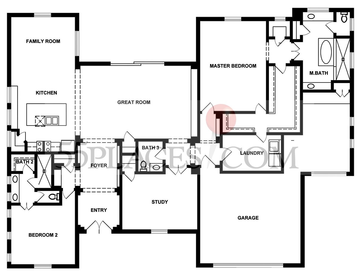 Pomona Floorplan 3155 Sq Ft Kissing Tree – Kissing Tree Site Plan