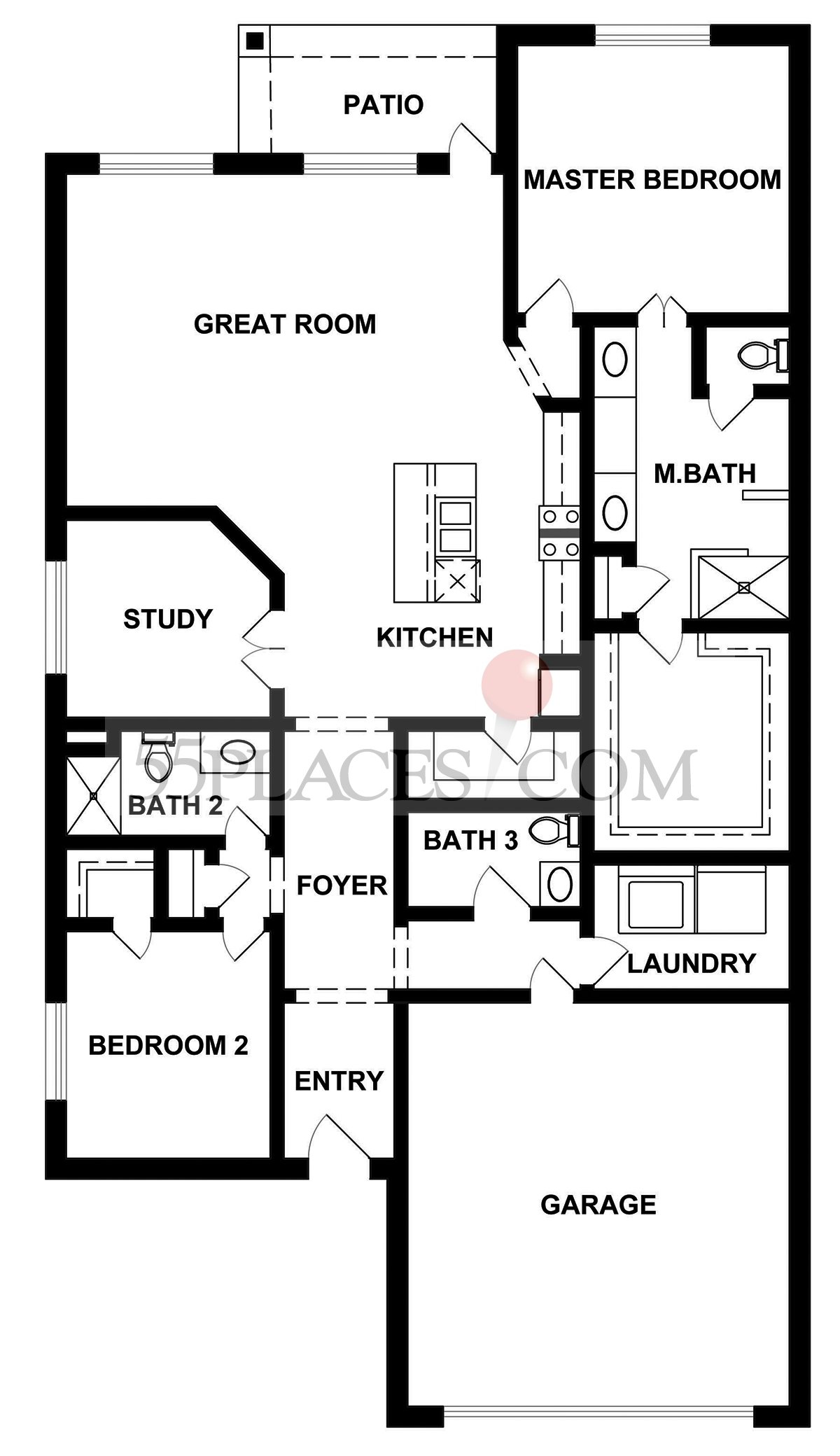 Tulane Floorplan 2063 Sq Ft Kissing Tree – Kissing Tree Site Plan