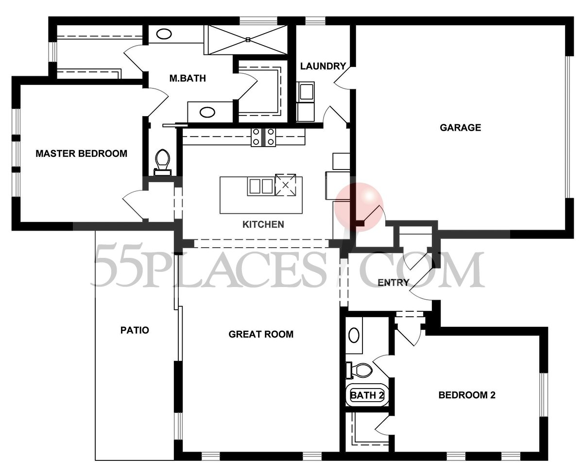 Wheaton Floorplan 1830 Sq Ft Kissing Tree – Kissing Tree Site Plan