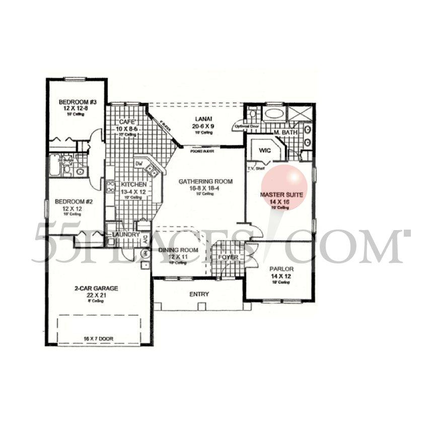Paytas Homes Floor Plans | Chelsea Floorplan 2001 Sq Ft Halifax Plantation 55places Com