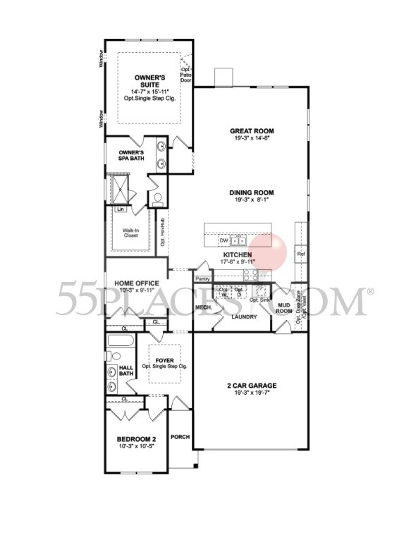 Cocomo floorplan 1913 sq ft four seasons at monmouth woods cocomo 1913 sq ft approx ccuart Images