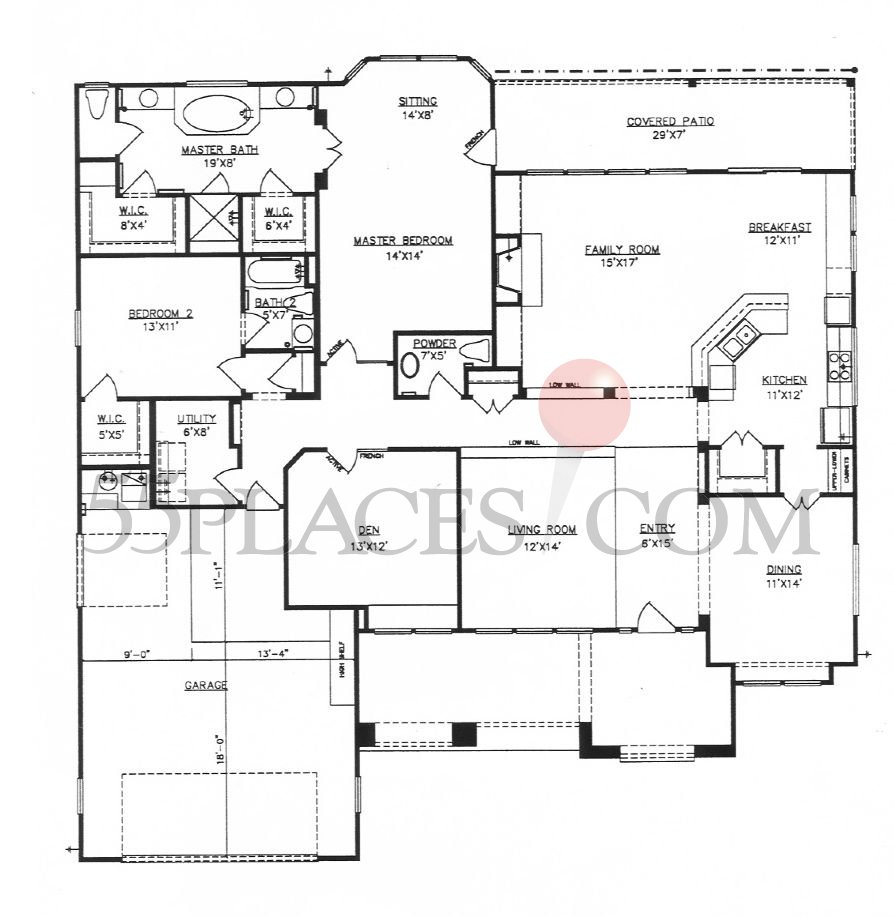 Sun city floor plans texas escortsea for Texas floor plans