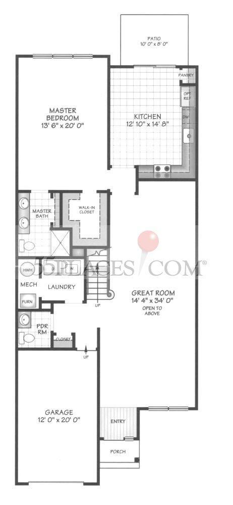Devon Floorplan 2168 Sq Ft Canal Walk 55places