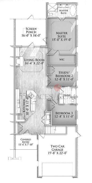 Devon Ii Floorplan 2170 Sq Ft Brunswick Forest 55places