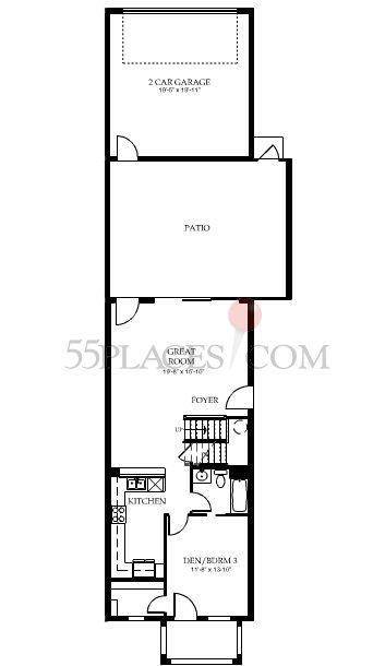 Dublon Floorplan 1858 Sq Ft Villagewalk Of Bonita