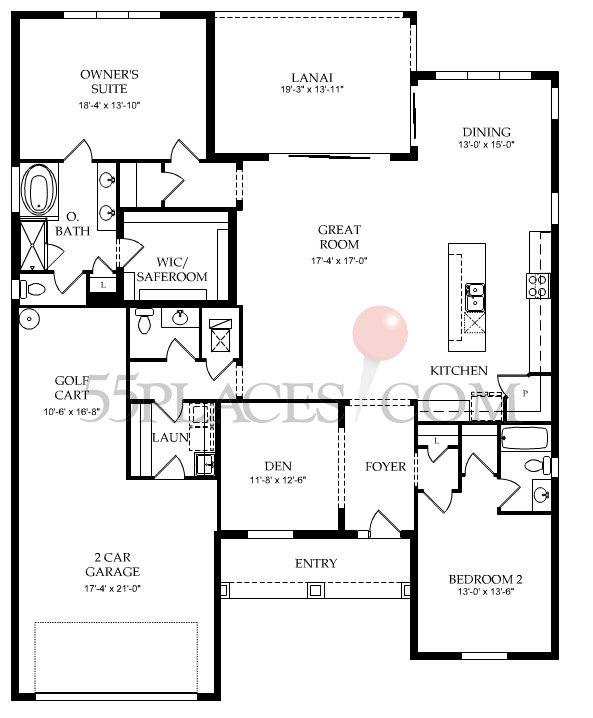 Dunwoody Lane Floorplan 2315 Sq Ft Veronawalk 55places