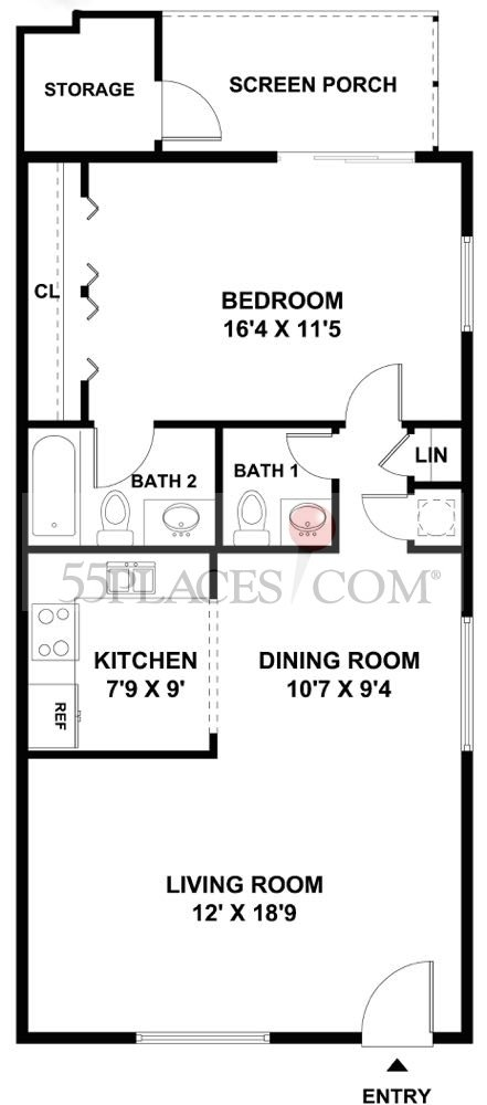 F Floorplan Kings Point In Delray Beach 55places Com