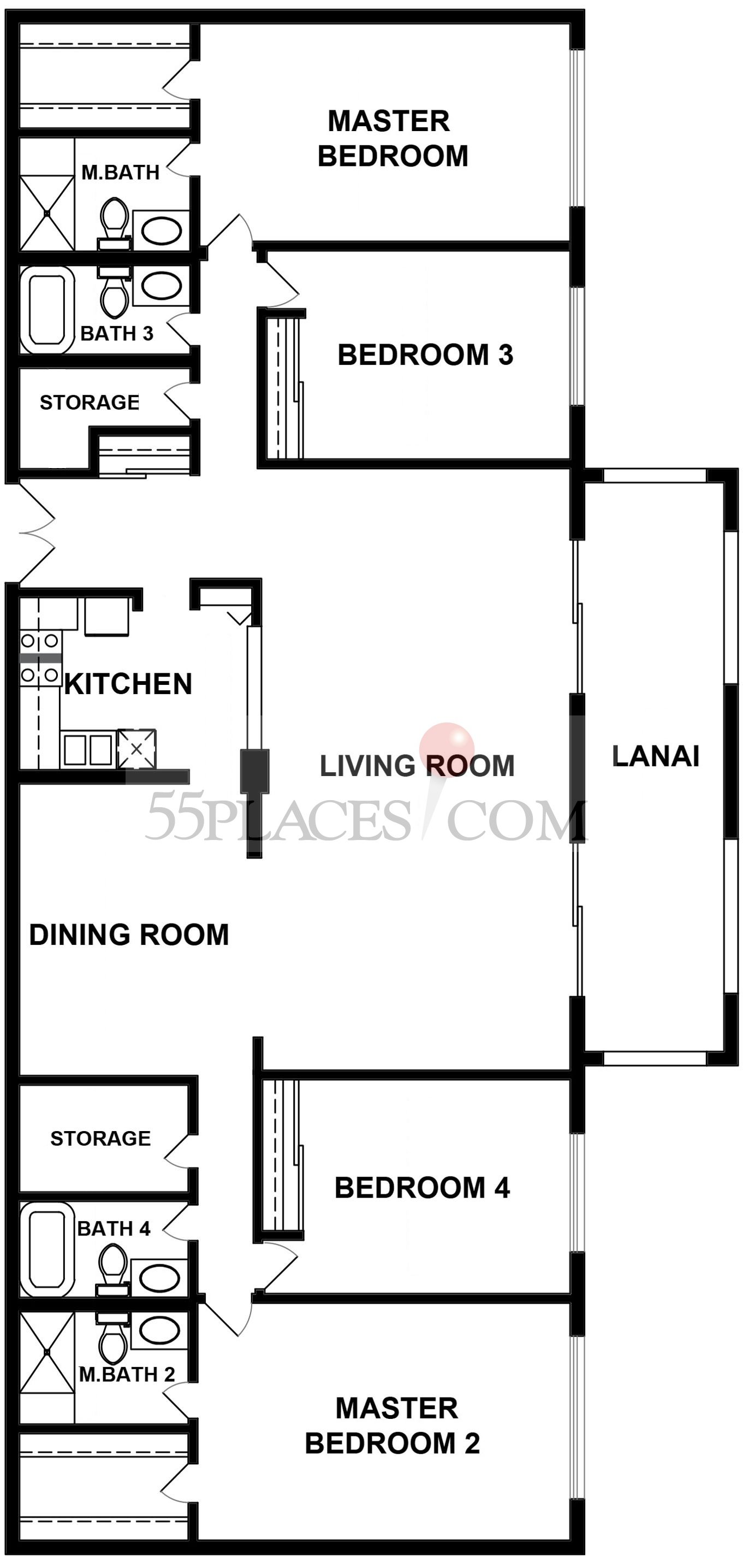 Floor Plan AA