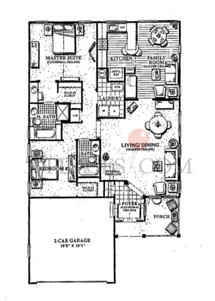 Grandville Floorplan 1828 Sq Ft Holiday Village East