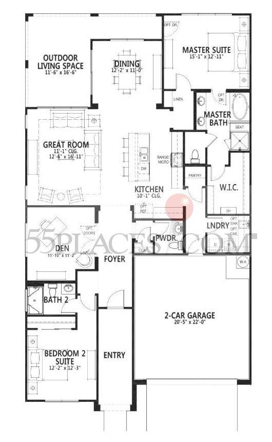 Robson Ranch Marbella Floor Plan Floor Matttroy