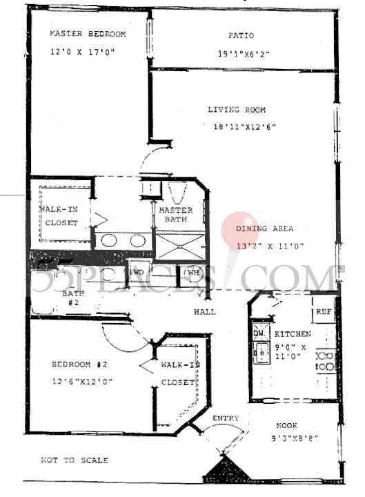 Magnolia Floorplan 1533 Sq Ft Century Village At