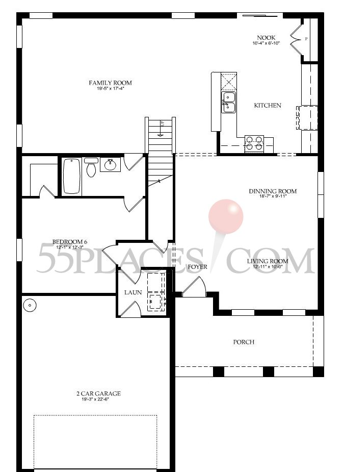 Nautilus floorplan 3514 sq ft sullivan ranch for Sullivan floor plan
