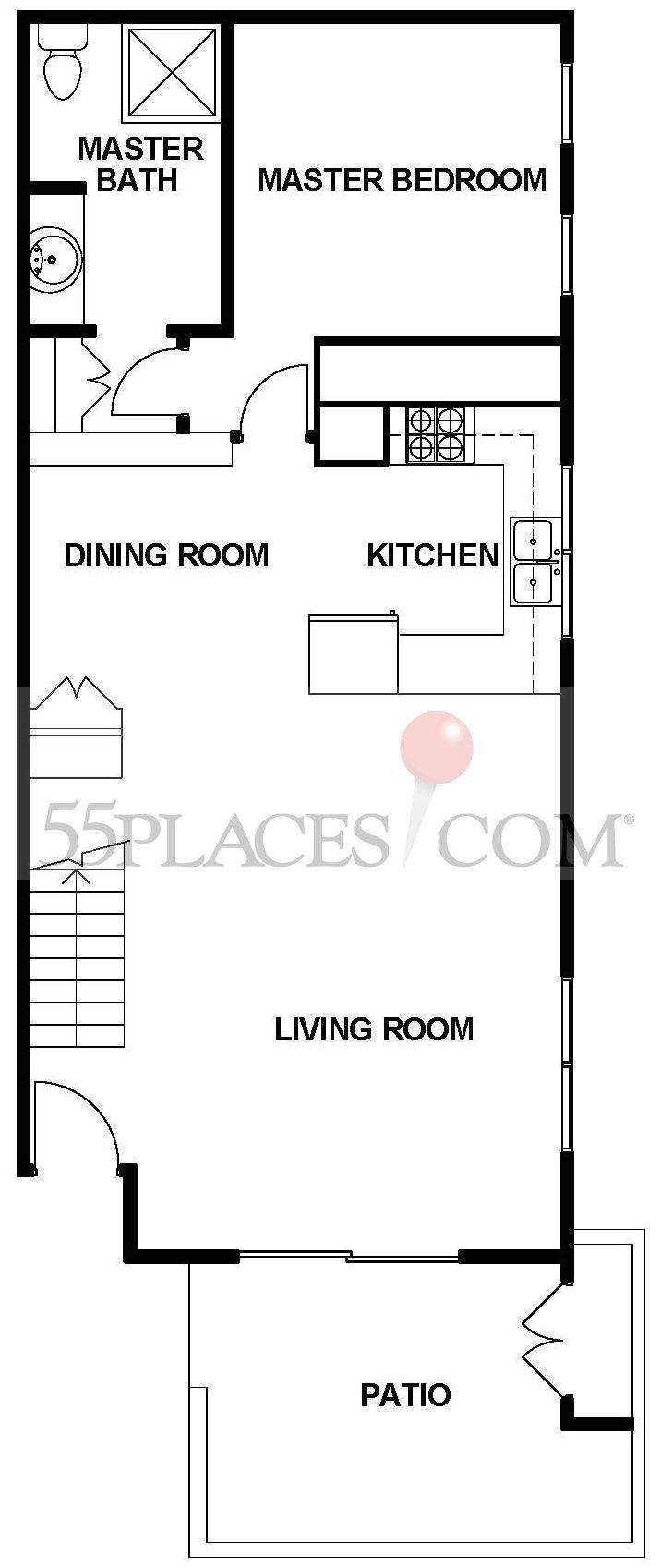 Seville-New Floorplan | 1324 Sq. Ft | Laguna Woods Village ...