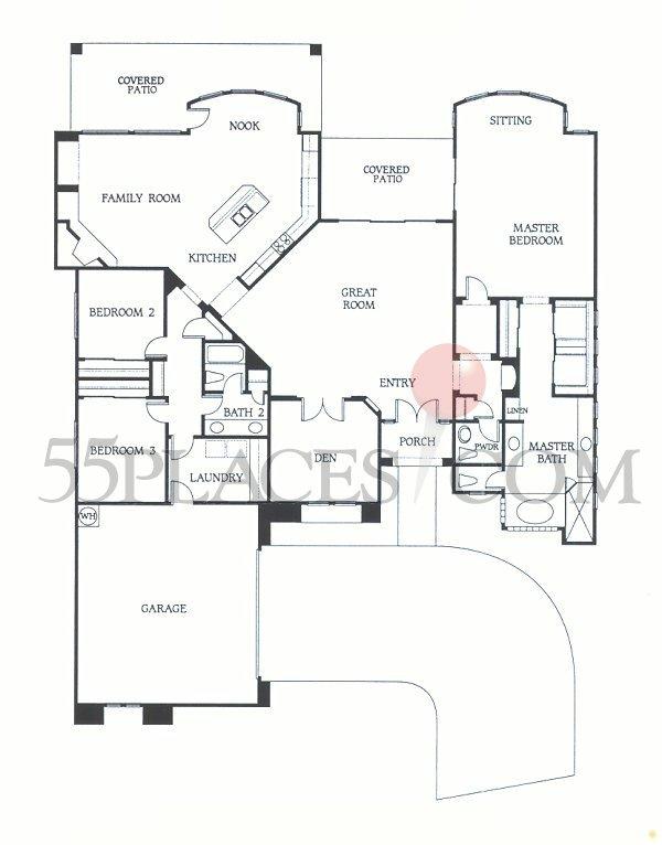 Opala Floorplan 2992 Sq Ft Bellasera 55places