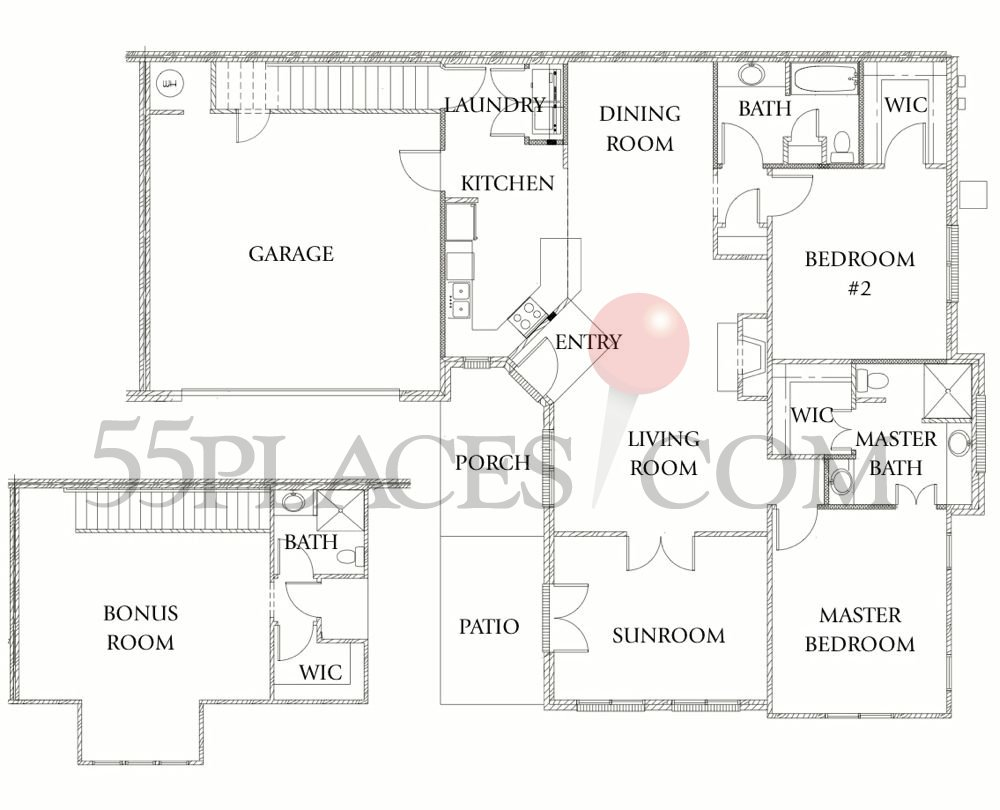 Oxford ii floorplan 2125 sq ft brookhaven at johns for Oxford floor plan