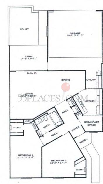 Patio Apartment (PA-401)