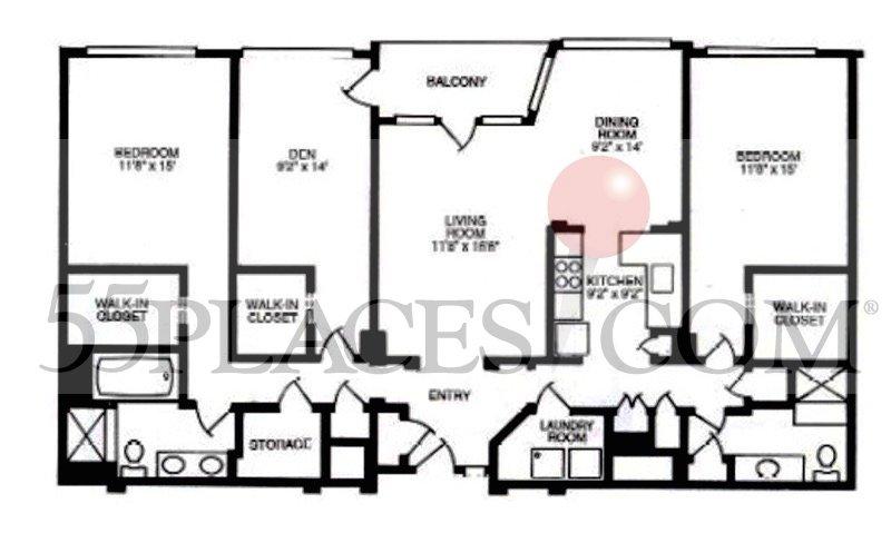 Ph II Floors 1-5 Den