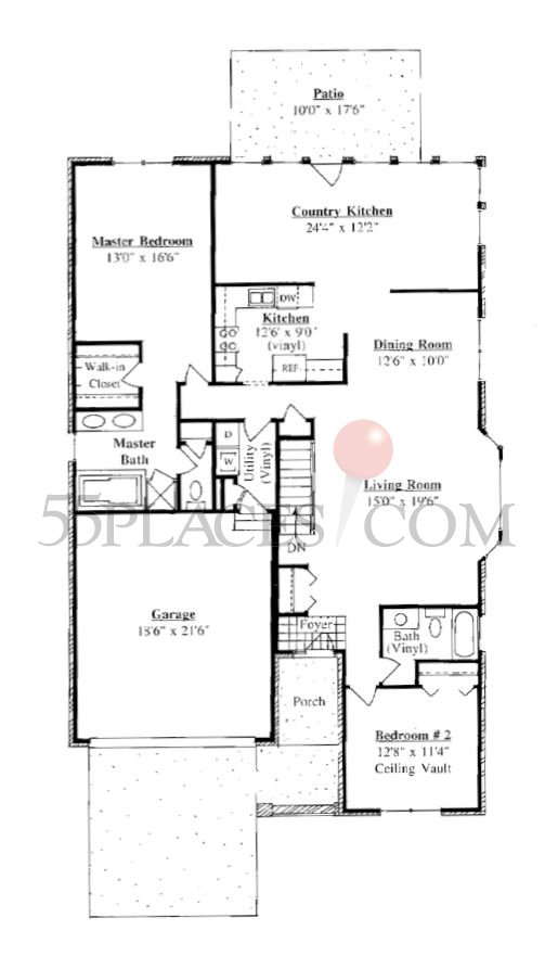 Portsmouth Floorplan 2000 Sq Ft The Village At