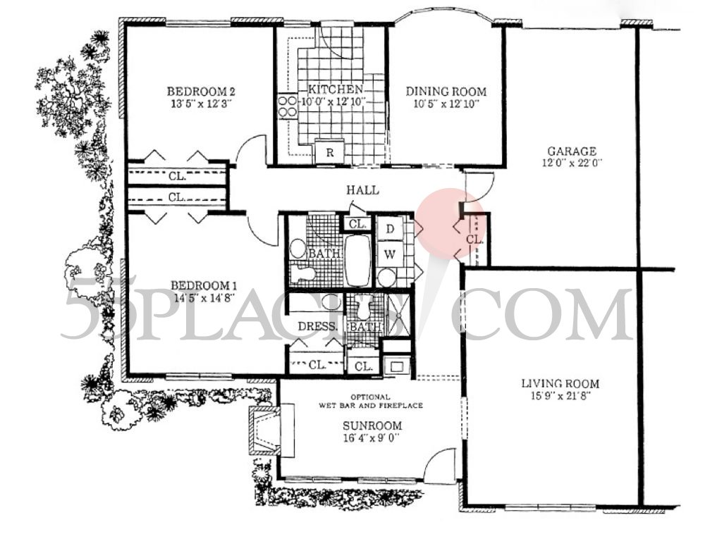 Regency Floorplan 1948 Sq Ft Leisure Village West