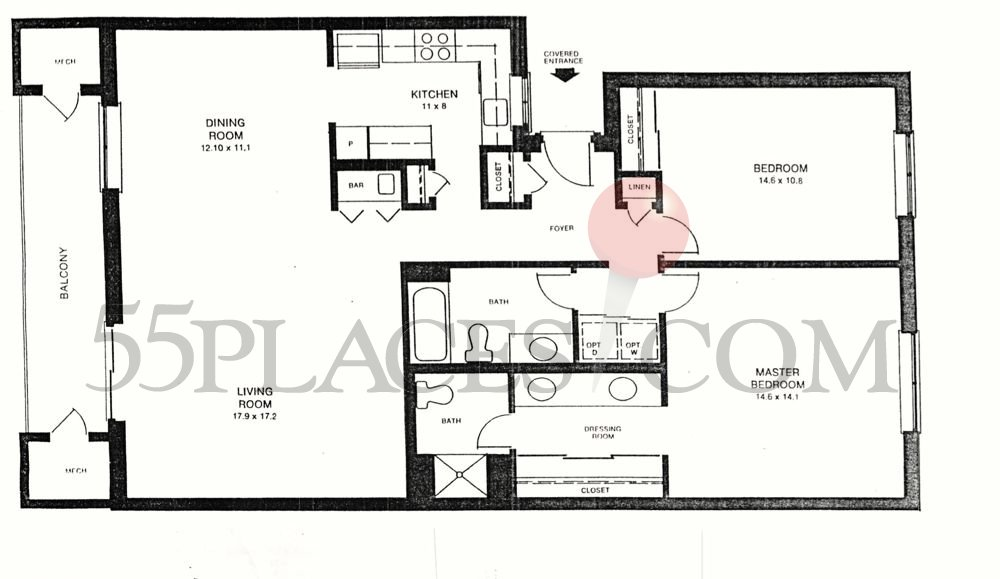 Riviera Floorplan Leisure World Of Maryland 55places Com