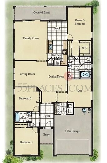 Sand Dollar Northland Floorplan 2278 Sq Ft Southshore