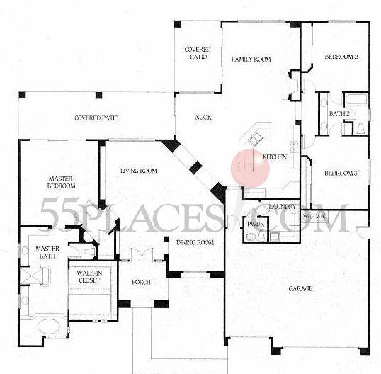 Sappira Floorplan 3005 Sq Ft Bellasera 55places