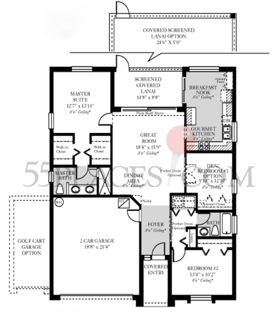 Sheffield Floorplan 1397 Sq Ft Kings Gate